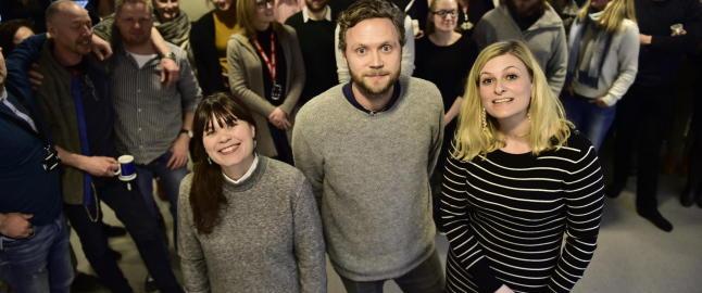 Tre nye redakt�rer i Dagbladet