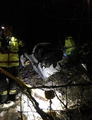 Tre nordmenn alvorlig skadd i flyulykke i Sverige
