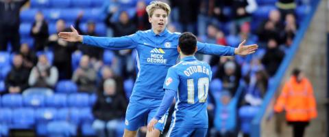 Martin Samuelsen bomma p� straffe da Peterborough r�k ut av FA-cupen