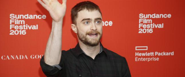 Radcliffe blir slaktet for rollen som prompende lik med konstant ereksjon