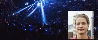 Her omringes Kygos mamma av elleville fans f�r gigakonsert i New York