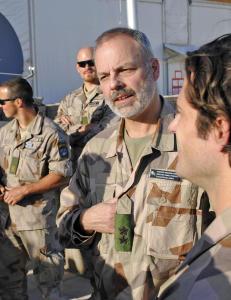 Sveriges h�rsjef: Sverige kan v�re i krig om noen �r