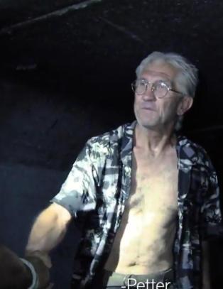 Dette m�tet - fem meter under Las Vegas - ga Norge �Petter uteligger�
