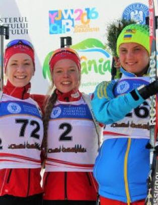 Dobbelt norsk i ungdoms-VM i skiskyting