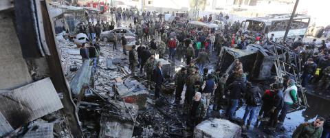 45 drept i selvmordsaksjon i Syria