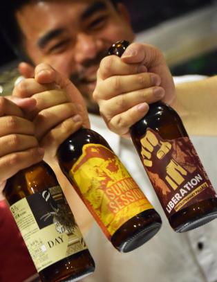 San Miguel har brygget �l i Manila siden 1890, men de to siste �ra har det skjedd noe nytt