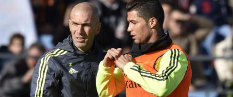 Ronaldo hyller Zidane: - Han har gjort en fenomenal jobb