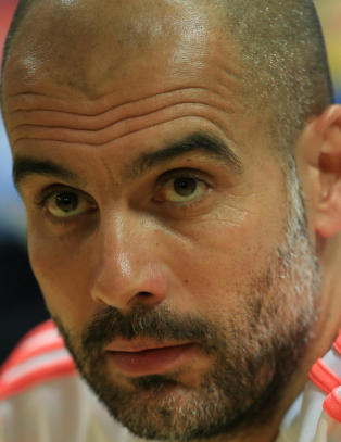 Guardiola klar for City