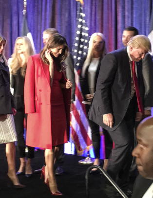 Trump i tr�bbel
