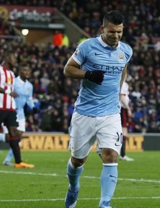 Slik s� matchvinner Ag�ero ut etter � ha senket Sunderland