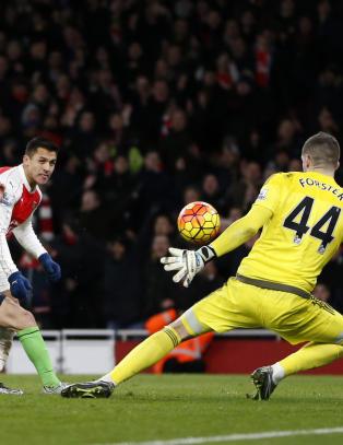 Sjansesl�sing for Arsenal mot Southampton