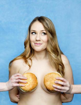 Ida Fladen: - At noen faktisk g�r s� langt for � fortelle meg at de synes jeg er feit, er dr�yt