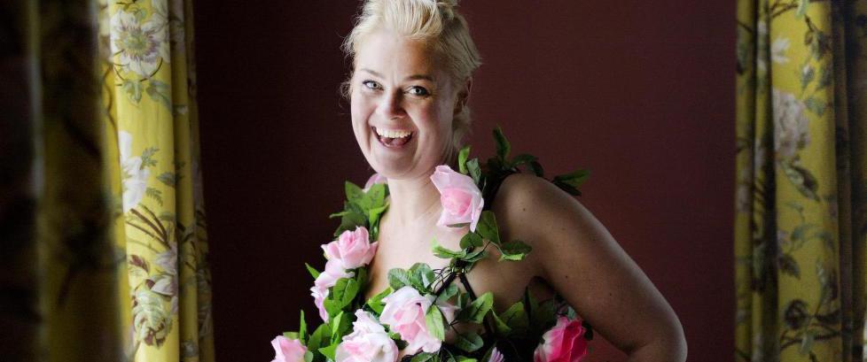 Da Bj�rg Thorhallsdottir ble voldtatt som 17-�ring, polstret hun seg og gikk opp 20 kilo i vekt