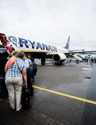 Ingen takk, men farvel til Ryanair