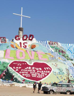 Slab City er den siste av sitt slag i USA, og har blitt vestkystens mest forunderlige attraksjon