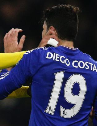Diego Costa stjal showet etter denne situasjonen med Watford-spiller