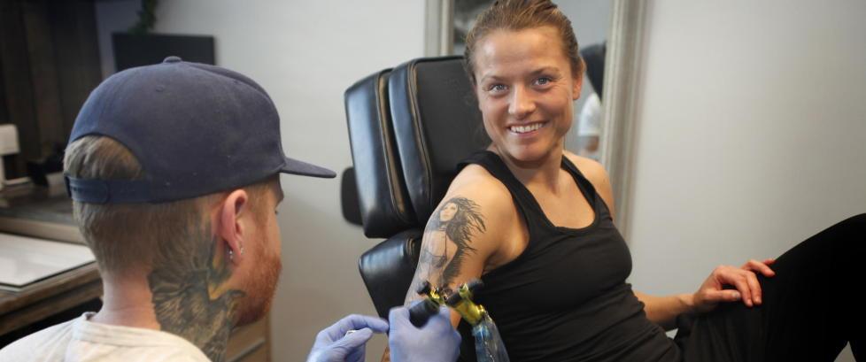 Denne dama skal gi Trine OL-billett