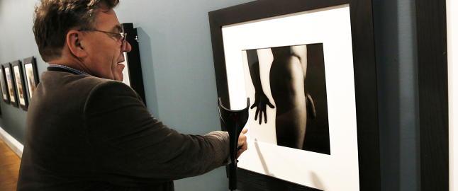 Stein Erik Hagen: - Jeg elsker � provosere med erotisk kunst