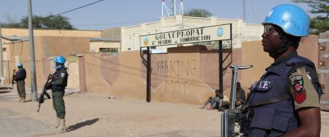 Angrep mot FN-base i Mali - ingen norske milit�re rammet
