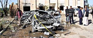 Libya risikerer �konomisk kollaps og med IS p� frammarsj ser framtida dyster ut