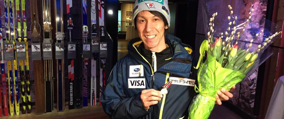 Utrolige Kasai (43) ble hedret. Her er den norske rivalen han husker best