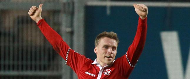 Ytterg�rd Jenssen scoret for Kaiserslautern