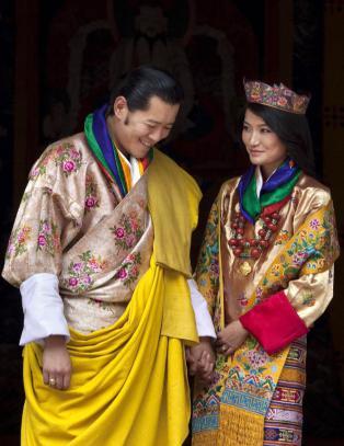 Bhutan har f�tt en kronprins