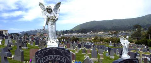 I �Sjelenes by� er det 1000 ganger s� mange d�de som levende