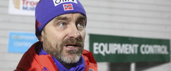 Finsk hoppsjokk i Kollen: - S� langt nede har noe aldri v�rt