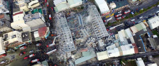 14 drept og 154 savnet etter Taiwan-jordskjelv