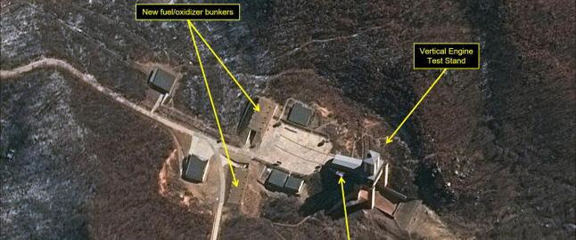 AP: Nord-Korea har skutt opp langdistanserakett