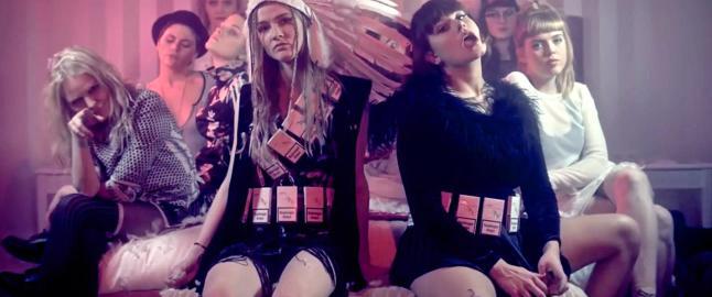 En islandsk rap-klan med 19 unge kvinner
