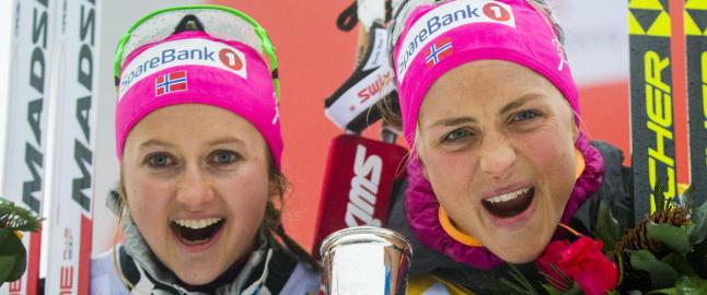 Flugstad �stberg utfordrer Johaug etter superl�p: - Jeg skal pr�ve � vinne verdenscupen