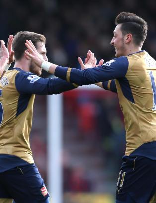 88 sekunder var nok for Arsenal-stjernene
