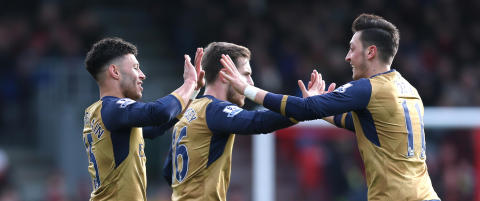 88 sekunder var nok for Arsenal-stjernene