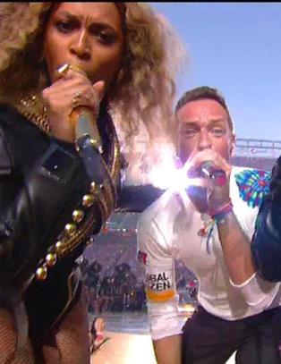 - Stakkars Coldplay, de s� ut som et �back-up band�