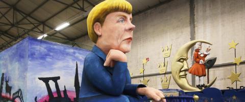 Merkel og 500 hester m� bli i stallen
