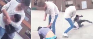 M�tte i retten etter � ha filmet grov vold mot ung mann
