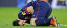 Messi skal behandles for nyrestein