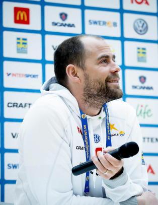 Trond Nystad gir seg. N� lanserer svenskene sin egen landslagssjef som arvtaker