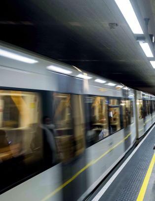 Stans p� alle T-banelinjene i Oslo