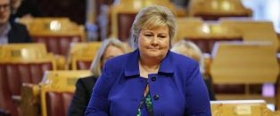 Erna: - Det er begreper Sylvi Listhaug har kommet med som jeg ikke er enig i
