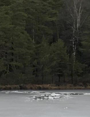 Gutt (12) gikk gjennom isen i Kristiansand