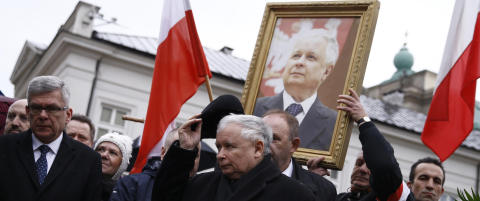 Polens Kaczynski-sp�kelse
