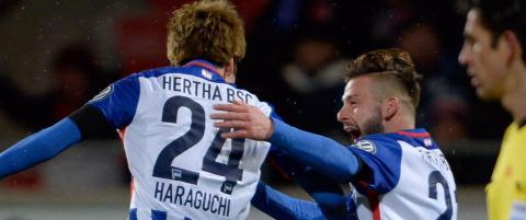 Jarstein og Hertha Berlin p� god vei mot tysk cupfinale
