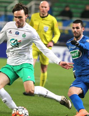 Saint-�tienne vant i Seln�s-debut