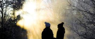 N� blir det kaldt og fint vinterv�r