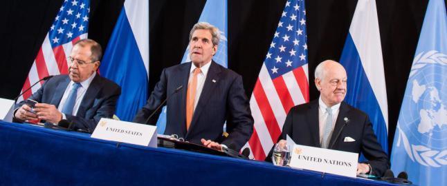 Enige om v�penhvile i Syria innen ei uke