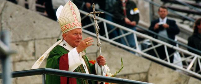 Pavens ukjente kj�rlighetsliv: - Et n�rmest magnetisk forhold