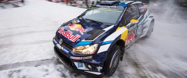 Knalltøff norsk duell om tredjeplassen i Rally Sverige